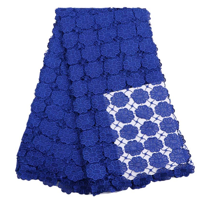 African Lace Fabric жоғары сапалы African Cord Lace 2016 - Өнер, қолөнер және тігін - фото 5