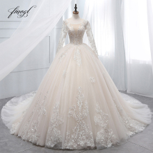 Fmogl Ball Gown Wedding Dresses 2019 Bridal Gown
