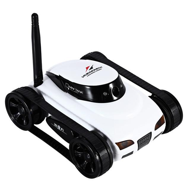 Cute Car Shaped Remote Control Plastic Wi-Fi Camera