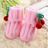 Newborn Baby Boy Girl Shoes First Walkers Scarpette Neonata Barefoot Shoes Fabric Baby Booties Crochet Slippers Footwear 503146