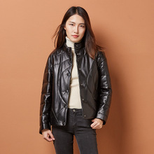 2018 New Fashion Genuine Sheep Leather Jacket H32