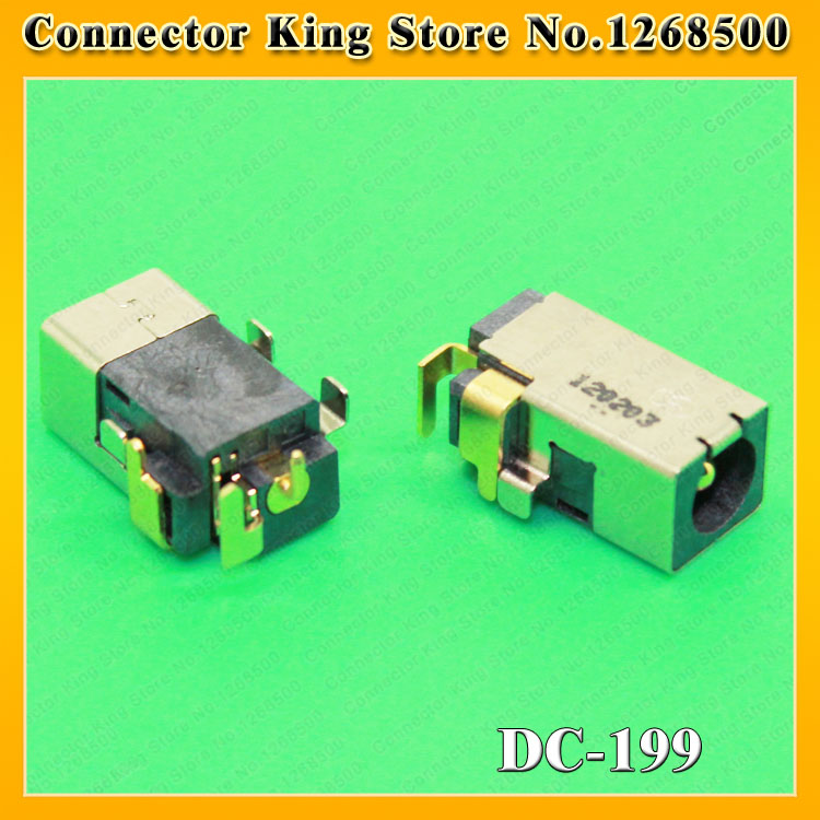 ChengHaoRan Best price New Laptop 1.65mm DC power jack connector for ASUS UX30 MK90 MK90H MK90U DC Jack 4.0*1.65,DC-199