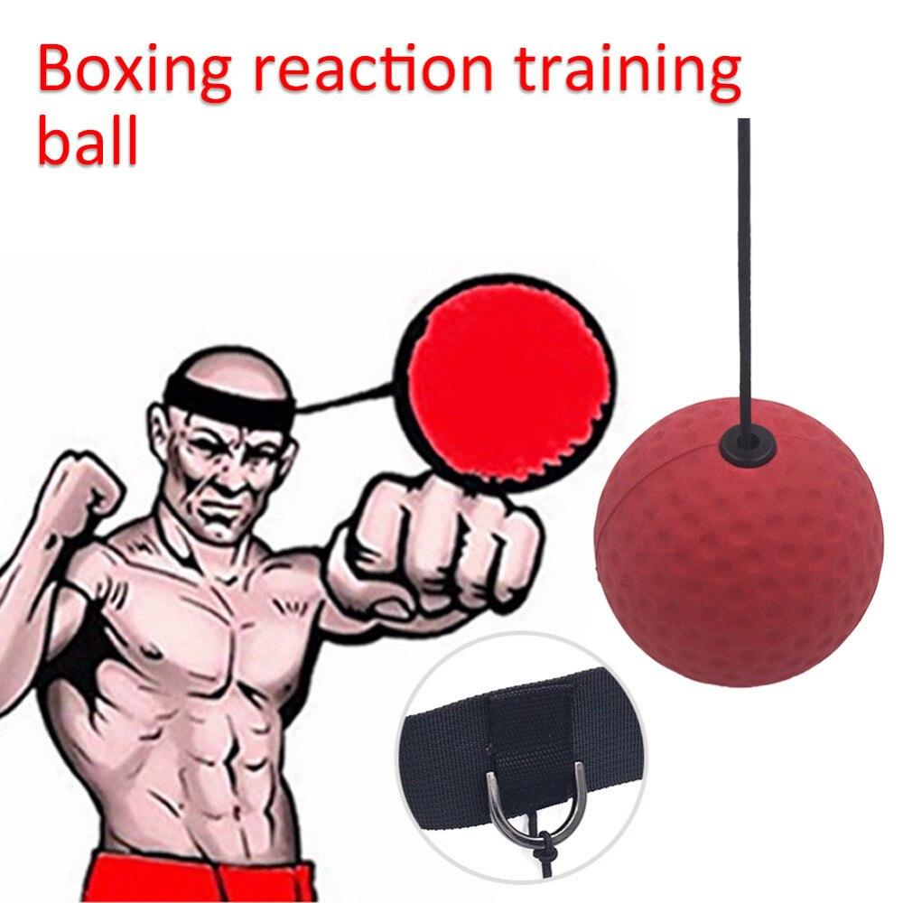 Бокс Скорость тренировочный мяч чувствительной ММА боксер Скорость реакции База отскоку мяч испуг оборудования Интимные аксессуары Фитнес мяч