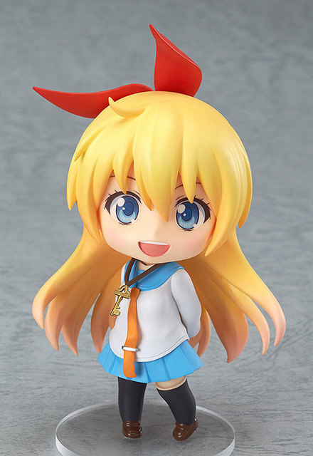 10cm Cute Nendoroid Nisekoi Chitoge Kirisaki Anime Action Figure PVC Collection Model toy juguetes brinquedos for christmas gift