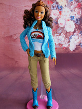 Free Shipping 2016 New Fashion Doll With Clothes and Shoes No Box Accessories For Barbie Doll