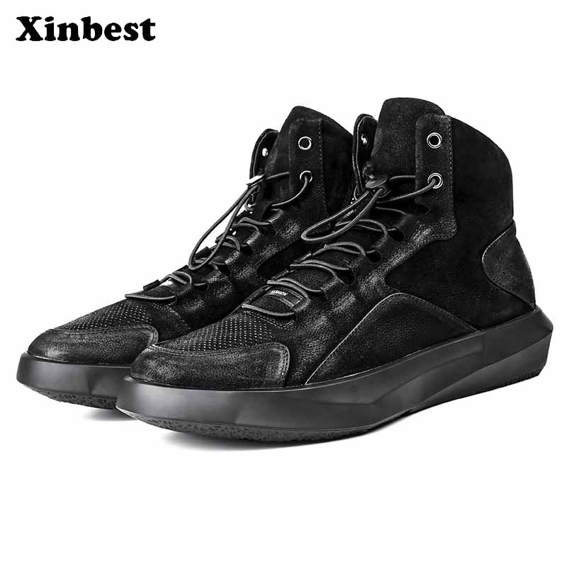 Xinbest NEW Man Brand Outdoor Athletic Men Running Shoes Super Light Comfortably Men Sneakers Fly line Fabric Running Shoes