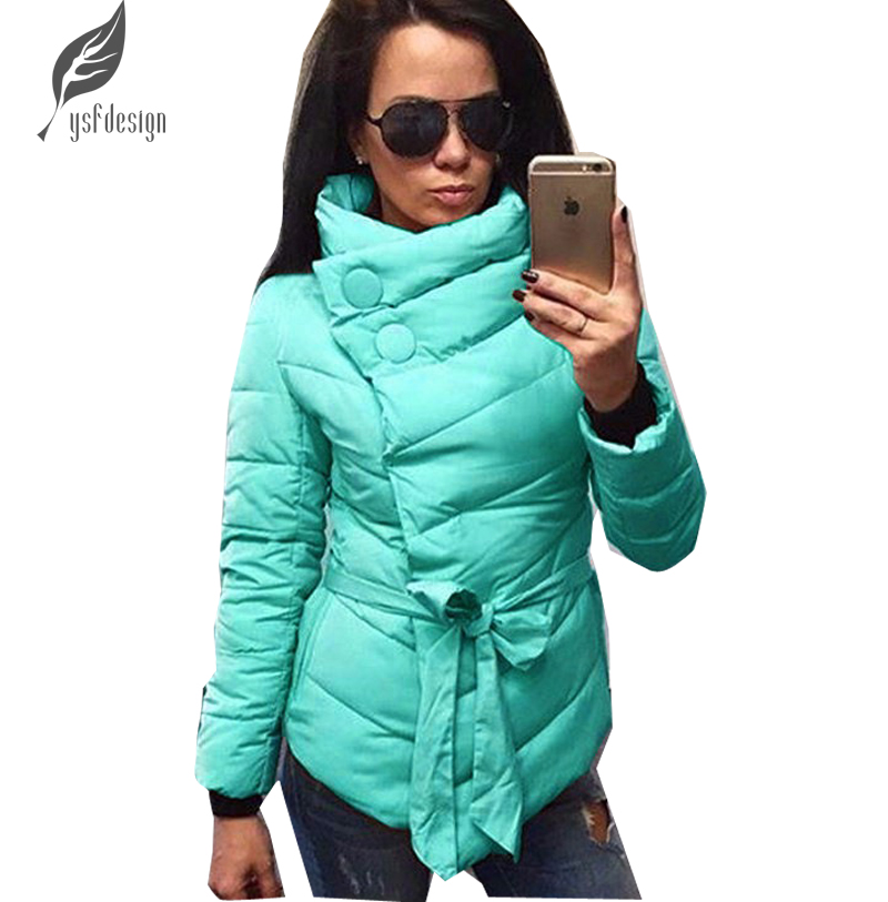2016 Yeni Sonbahar Kış Moda Kadınlar Bayanlar Casual Seksi Bandaj Uzun Kollu Düzensiz Kış Sıcak Ceket Coat Kabanlar