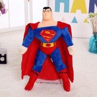 1 개 마블 영웅 리그 미군 동맹 슈퍼맨 봉제 장난감 인형 아이 장난감 인형 생일 선물, 무료 배송!