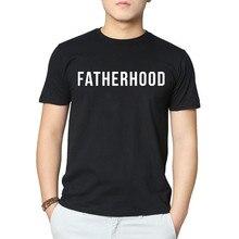 Лучший!  Мужская футболка LUS LOS Fatherhood для папы Слоган Футболка с коротким рукавом Лучший!