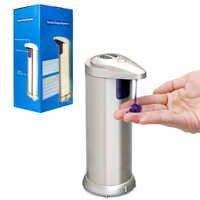 Automatische Seife Dispenser Sensor Automatische Touch-Freies Flüssigkeit Spender ABS Galvani Sanitize Dispenser Für Küche Bad