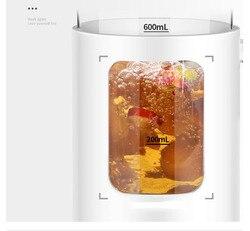 600ml Health pot mini glass flower tea kettle electric Ganoderma lucidum/ginseng tea/grass worm/health care soup/heat preservati