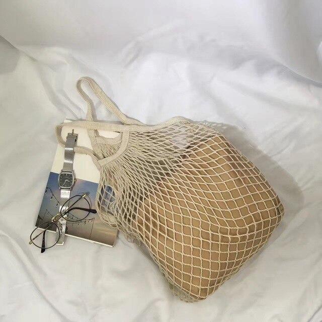 Новинка 2017 корейский сетей Chic Плетеный полый сумки с сумками
