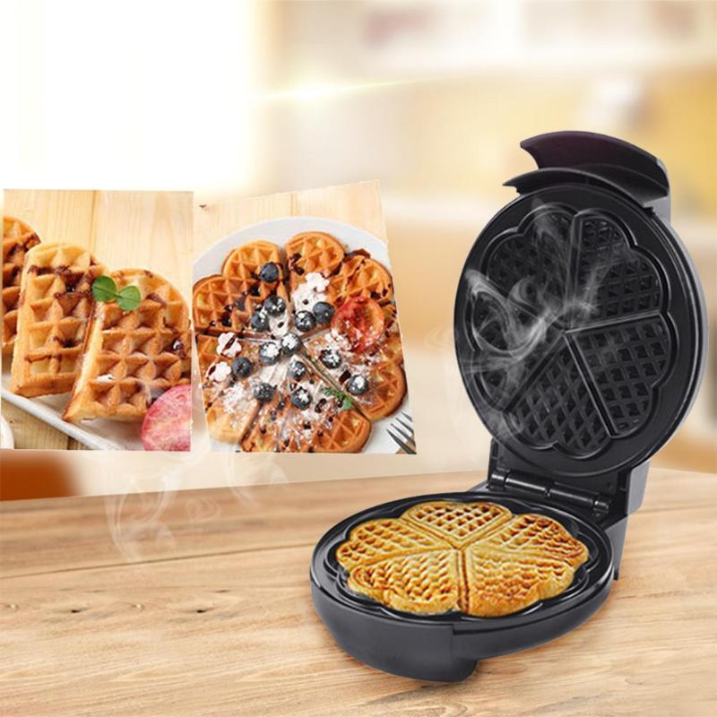 Full automatic Multifunctional Household Electric Waffle Maker Egg Ball Maker Muffin Machine Grill Pan Breakfast Making Tools
