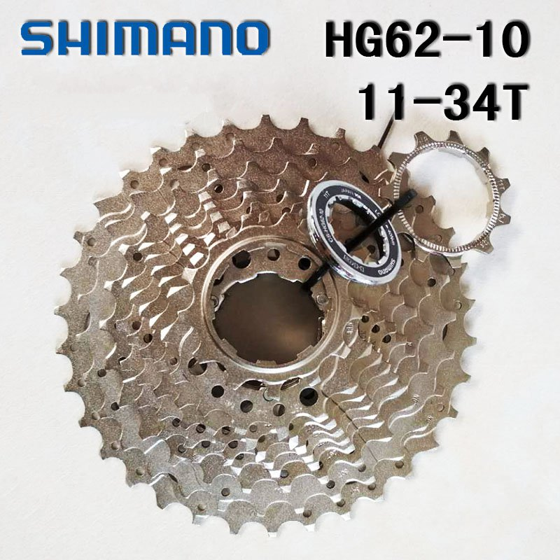 Cassette vélo vtt Shimano Deore cs-hg62-10 10 vitesses 11-32 34 T pignon Cassette vélo