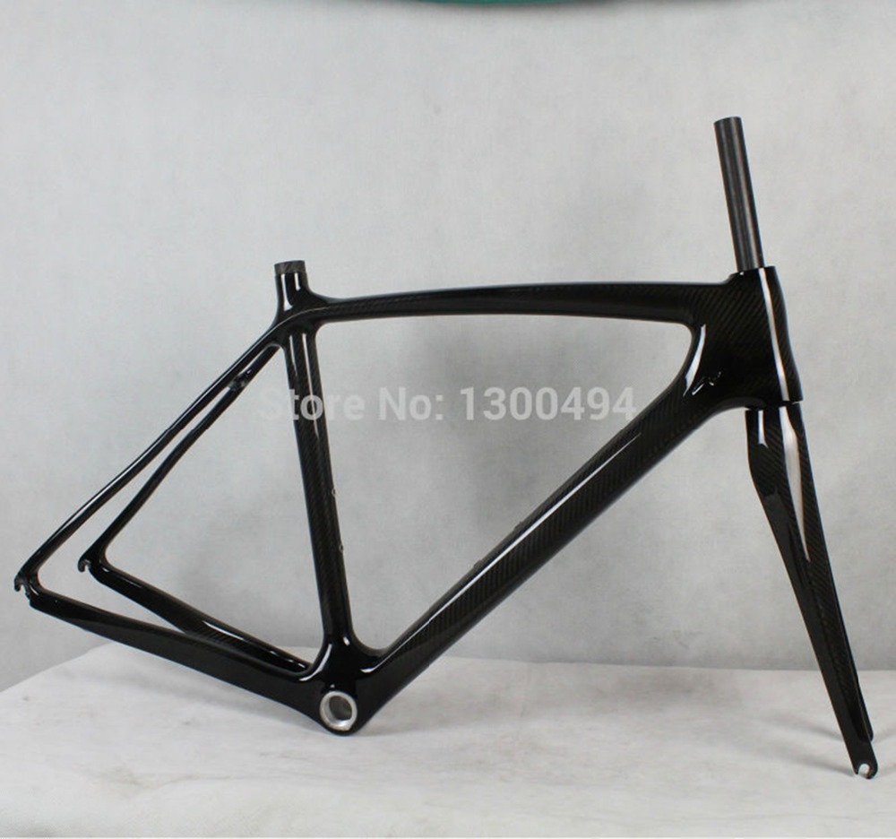 High Quality Carbon Road Frame KQ-RB51  UD Matte or Glossy Finish Factory Outlets mtb 26er mountain bike frames carbon frames kq mtb502 16 or 18inch black glossy or matte finish