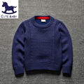 Spring Autumn new style baby boys Pure color sweater children Knitting boy pullover for boys 2-8Y Children warm sweater