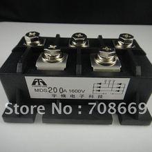 1 шт. MDS200A 3 фазы диодный мост выпрямителя 200A Amp 1600 в мостовой выпрямитель