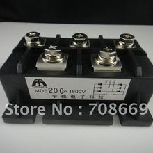 1 pieces MDS200A 200a amp 1600 فولت ديود جسر المعدل جسر المعدل(China)