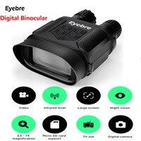 Eyebre 400 м цифровой инфракрасный Охота Ночное Видение бинокулярный область HD фото Камера видео Регистраторы Тактический Ночное видение облас