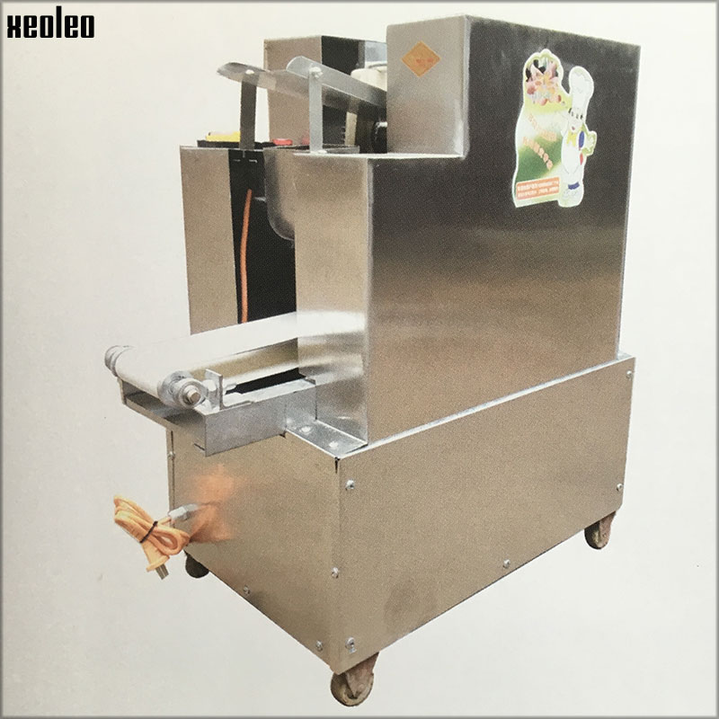 Xeoleo Dumpling wrapper Dumpling foreskin maker Dumpling wrapping machine 4000pc/h Commercial Dumpling machine 220V/110V low energy consumption dumpling maker machine