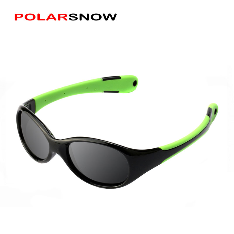 POLARSNOW Cartoon Flexible TR90 Kids Sunglasses  F