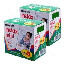 Fujifilm Instax מיני 9 לבן סרט 100 גיליונות עבור פוג י מיידי תמונה מצלמה מיני 9 8 8 + 7s 25 70 90 לשתף מדפסת Liplay SP1 SP 2