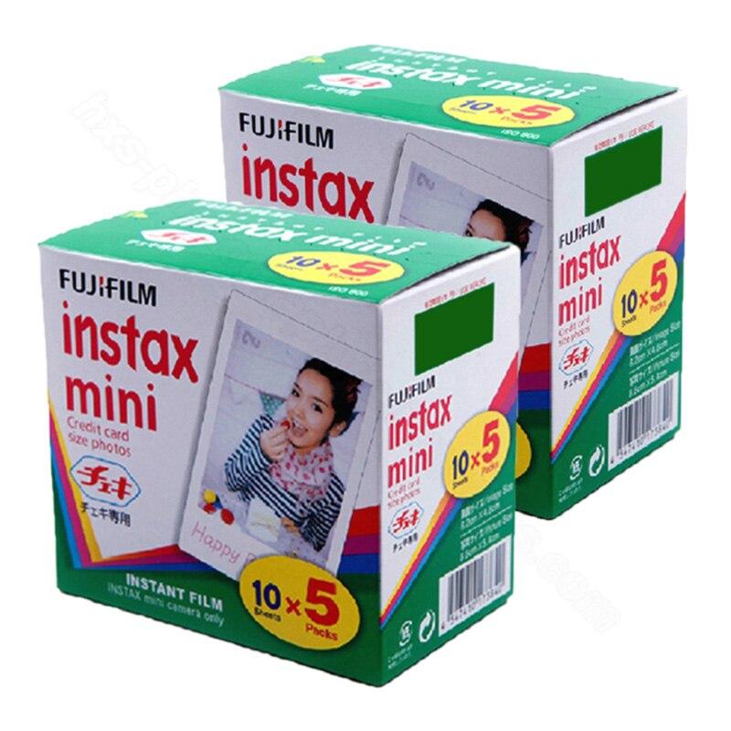 Fujifilm Instax Mini 9 Blanc Film 100 Feuilles pour FUJI Photo Instantanée Caméra Mini 9 8 8 + 7 s 25 50 s 70 90, partager Imprimante SP-1 SP-2
