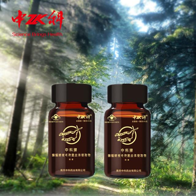 2 PCS chinês melhor pó do extrato cápsula de cordyceps yarsagumba rim de nutrição suplemento alimentar à base de plantas para o fortalecimento do corpo