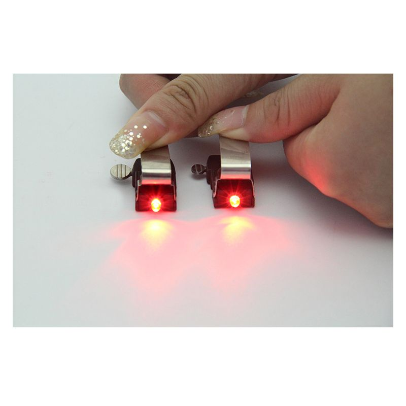 1 stücke Mini Bike Bremslicht MTB Rennrad LED Rückleuchten Sicherheit Warnung Radspeichen Blinkende Lampe