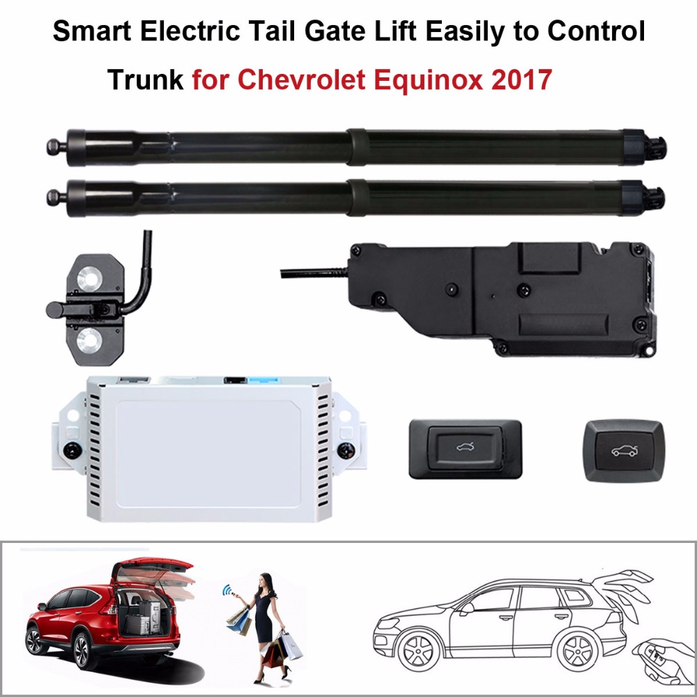 Electric Tail Gate Lift For Chevrolet Equinox 2017 Control By Remote