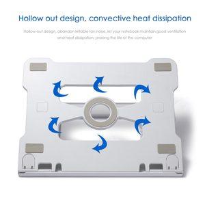 Image 4 - 유니버설 휴대용 노트북 스탠드 노트북 스탠드 홀더 접이식 알루미늄 삼성 전자 맥북 에어 13 프로에 대한 조절 가능