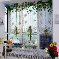 Tulled рольставни занавески римские шторы s вышитые шторы