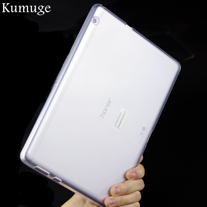 Купить Cover For Huawei Mediapad T3 10 Ags-L09 Ags-L03 Soft Tpu Gel Transparent Silicon Tablet Case For Huawei Honor Play Pad 2 9.6 Pen