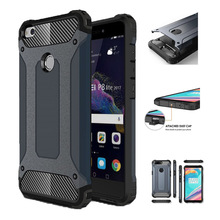 Shockproof Case For Huawei P8 P9 Lite 2017 Armor Silicon Case For Huawei Nova 3E P20 P10 P9 P8 Plus Lite Cover Coque Shell Capa стоимость