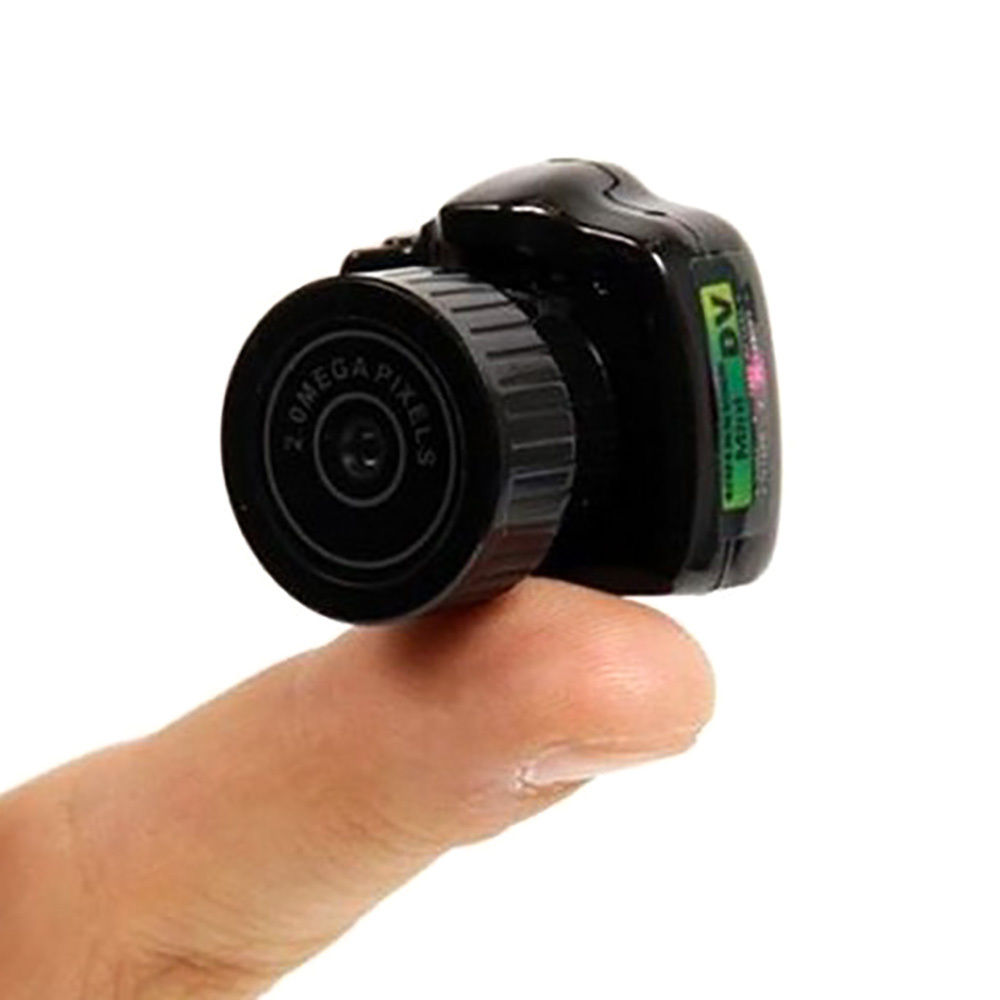 цена на Y2000 Mini Camera USB Smallest DV Digital Camera Pocket Micro Video Recorder Audio Video Camcorder with cable Strap 2MP Webcam