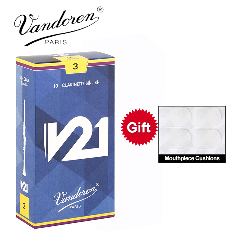 Vandoren Strenth 2 Bb Clarinet Reeds Traditional Single Reduced to Clear BARGAIN