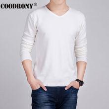 HS Einfarbigen Pullover Männer Wolle & Cashmere Pullover Männer 2016 berühmte Marke Mens V-ausschnitt Pullover Fashion Pull Homme Slim Fit hemd