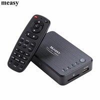 Measy A1HD Multimedia 3D HDD Player Full HD 1080P MKV H 264 HDMI USB HOST SD