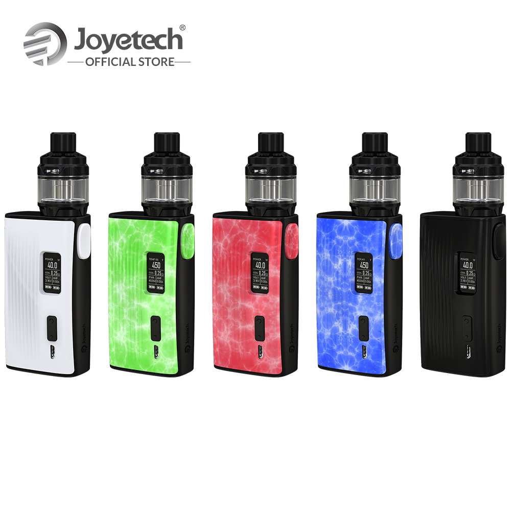 Original Joyetech ESPION Tour With CUBIS Max Kit 5ml Capacity Tank Output 220 Wattage NCFilm TM Heater Electronic Cigarette