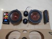 Melo david audio alpine car speaker kit..alpine tweeter+ grass mix paper cone woofer+ crossover