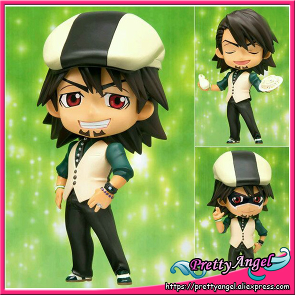 Original Bandai Tamashii Nations Chibi-Arts Tiger and Bunny Action Figures - Kaburagi T. Kotetsu все цены