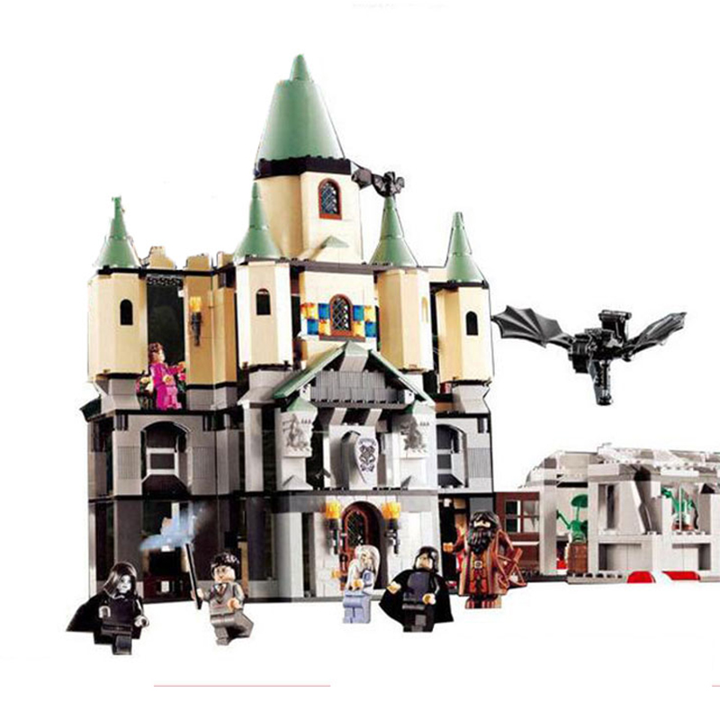 1033Pcs Lepin 16029 Movie Series The magic Hogwort Castle Model Building Blocks Bricks Educational Toys for Children Gifts 5378 china brand 16029 educational bricks toys diy building blocks compatible with lego hogwarts castle 5378