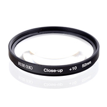 RISE(UK) 52mm Macro Close Up +10 Close Up Filter for All DSLR digital cameras 52MM LENS
