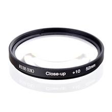 Rise (Uk) 52 Mm Macro Close Up 10 Close Up Filter Voor Alle Dslr Digitale Camera 52 Mm Lens