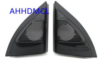 Głośnik samochodowy montaż skrzynek głośnikowych wspornik montażowy Audio drzwi kąt guma do Vios Yaris Yaris L 2013 2014 2015 2016 2017 2018 tanie i dobre opinie AHHDMCL 0 2kg Car audio door angle gum tweeter refitting ABS+PC+Metal Black