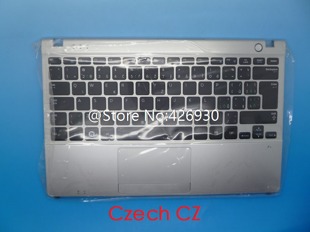 Laptop PalmRest&keyboard For Samsung NP350U2B NP350U2A English US United Kingdom UK Nordic NE Korea KR Czech CZ Touchpad