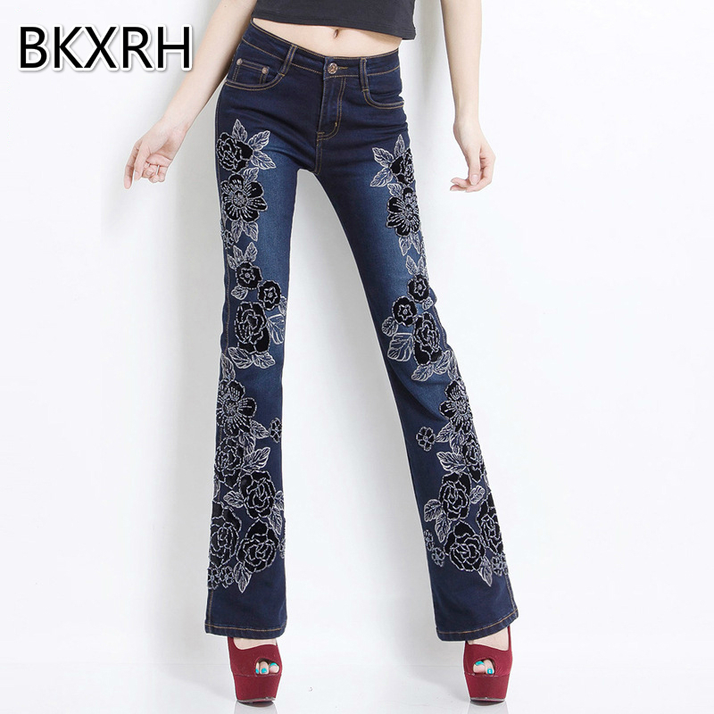 Online Buy Wholesale big flare jeans from China big flare jeans ...