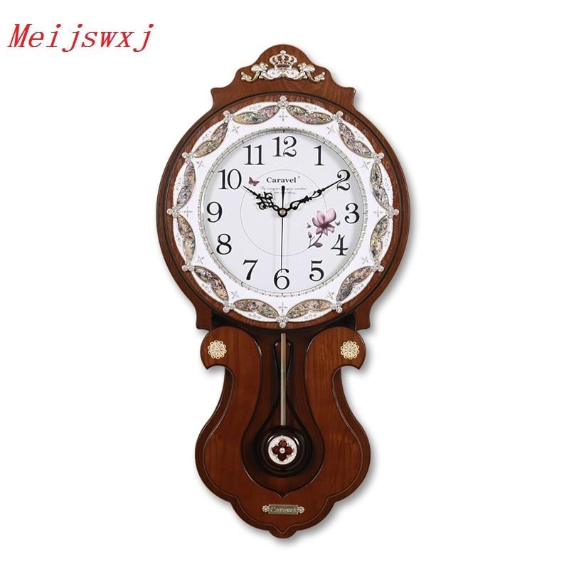 Online Buy Wholesale large pendulum wall clock from China large