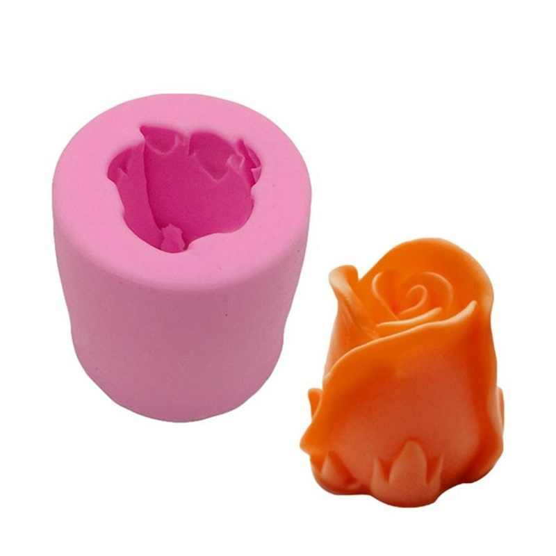 CHUANGGE Silicone Candle Molds Candle Making Supplies Flower Ring Baking Mold DIY Home Decoration DIY Gifts