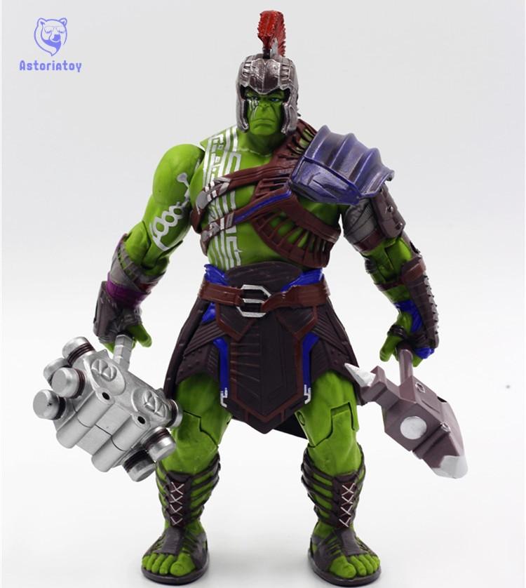 Thor 3 Ragnarok Hulk Robert Bruce Banner PVC Action Figure Collectible Model Toy 20cm hulk vol 1 banner d o a